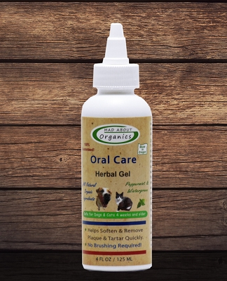 Organic Oral Care Herbal Gel 4oz