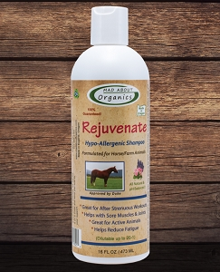 Organic Rejuvenate Shampoo for Horse and  Farm Animals