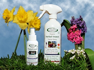 Organic Herbal Insect Relief Spray