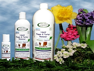 Organic Liquid Tartar and Plaque Remover Water Treatment