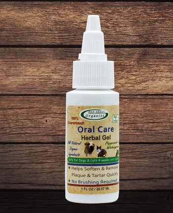 Organic Oral Care Herbal Gel 1oz