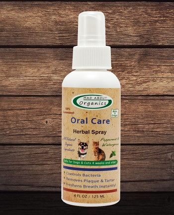 Organic Oral Care Herbal Spray 4oz