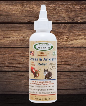 Organic Stress and Anxiety Relief 4oz