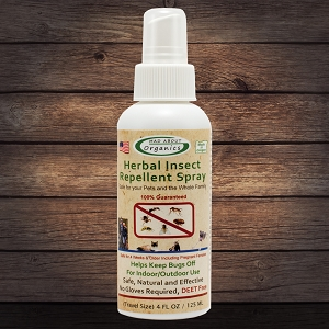 Organic Herbal Insect Repellent Spray 4oz
