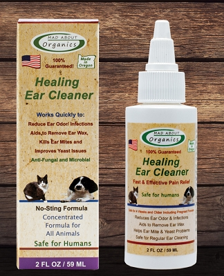 Organic Healing Ear Cleaner - Concentrated