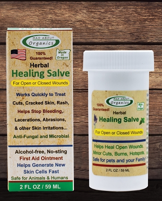 Organic Herbal Salve 2oz