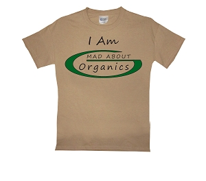 Mad About Organics Logo T-Shirt - Woman's