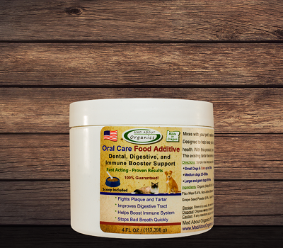 Organic Oral Care Food Additive 4oz