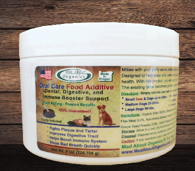 Organic Oral Care Food Additive 8oz