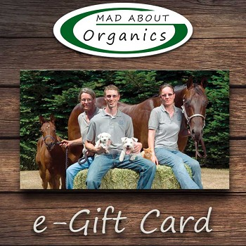 Mad About Organics e-Gift Card