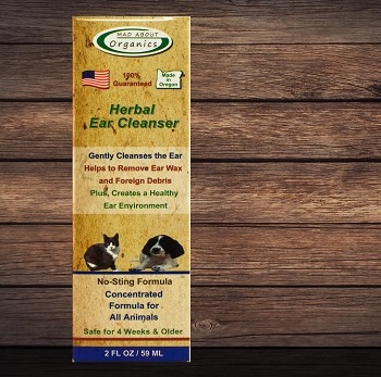 Organic Herbal Ear Cleanser - Concentrated