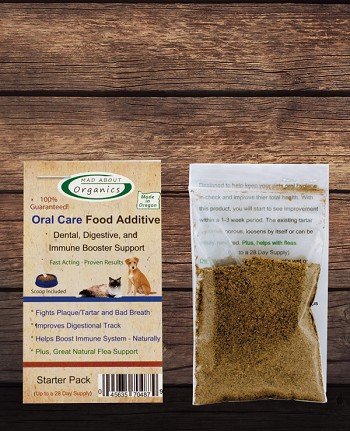 Organic Oral Care Food Additive Starter Packet
