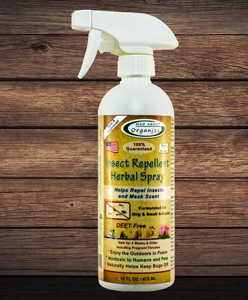 Organic Insect Repellent Herbal Spray 16oz